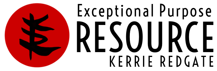 Exceptional Purpose Resource—Kerrie Redgate