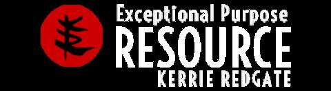 Kerrie Redgate | Resource Blog logo